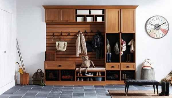 дизайн прихожей в доме, фото 36