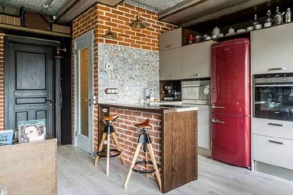 стильная современная кухня, фото 58