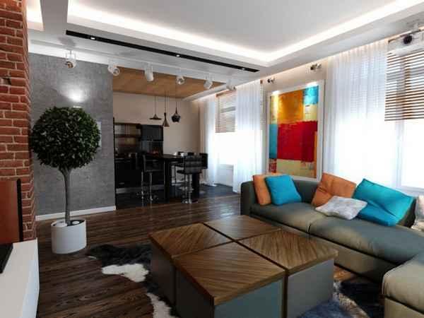 интерьер однокомнатной квартиры 30 кв м, фото 29