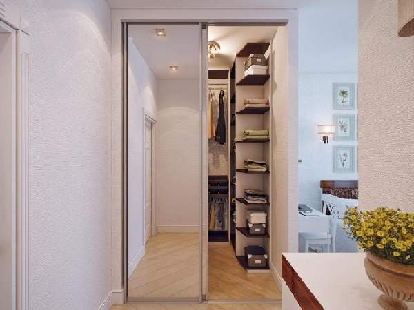шкаф купе кладовка в коридоре, фото 24