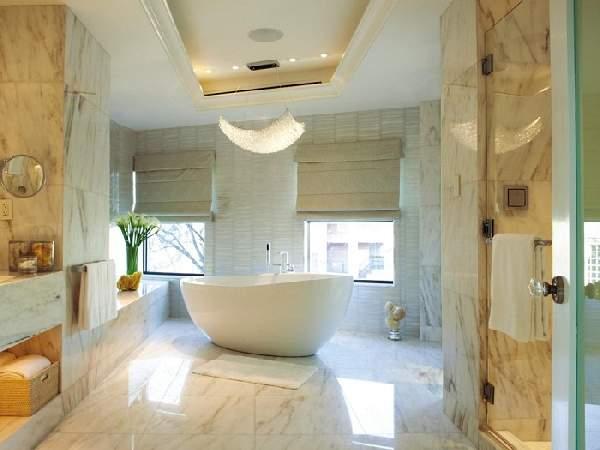 ванные комнаты больших размеров дизайн, фото 23