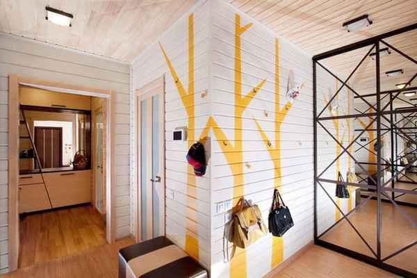 прихожая дизайн интерьера фото в доме частном, фото 43