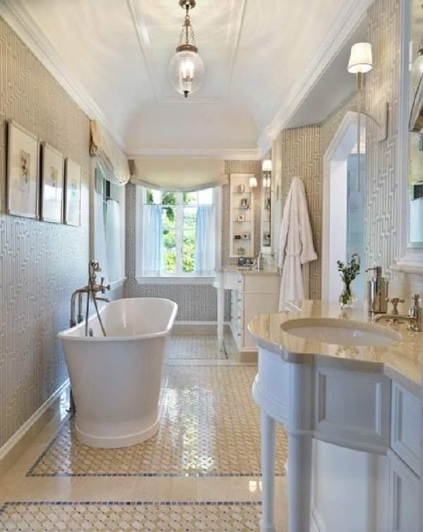 дизайн большой ванной комнаты, фото 25