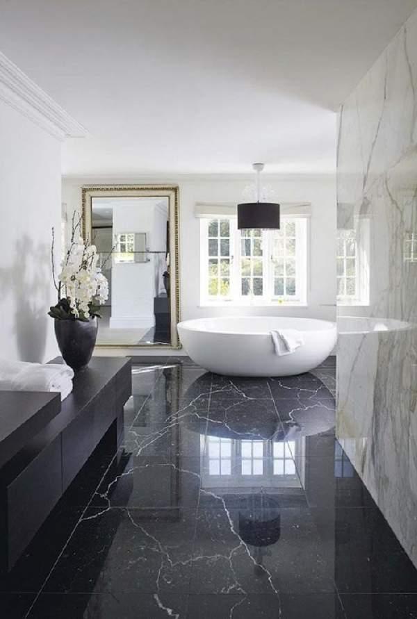 дизайн большой ванной комнаты в частном доме, фото 26