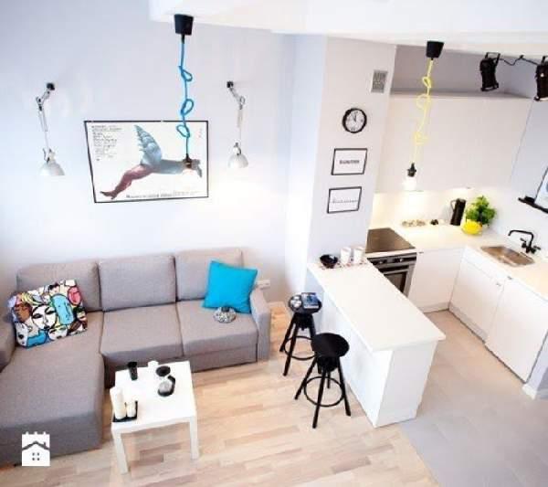 дизайн кухни 12 кв м с диваном, фото 3