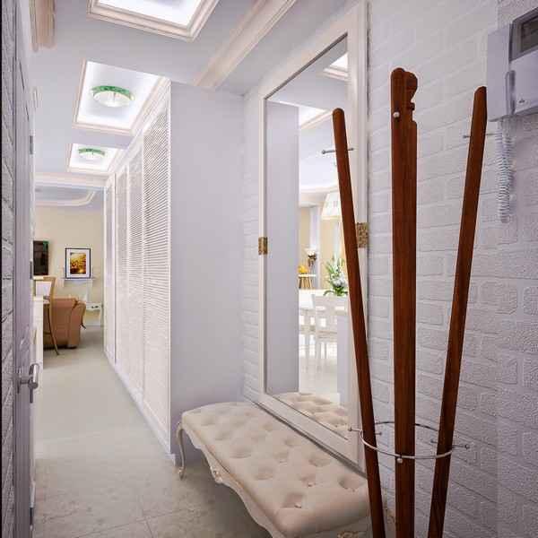дизайн интерьера прихожей в доме, фото 46