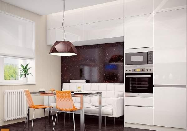 дизайн кухни 16 кв м с диваном, фото 25