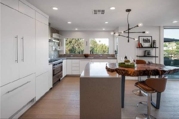 фото современных кухонь в частном доме, фото 74