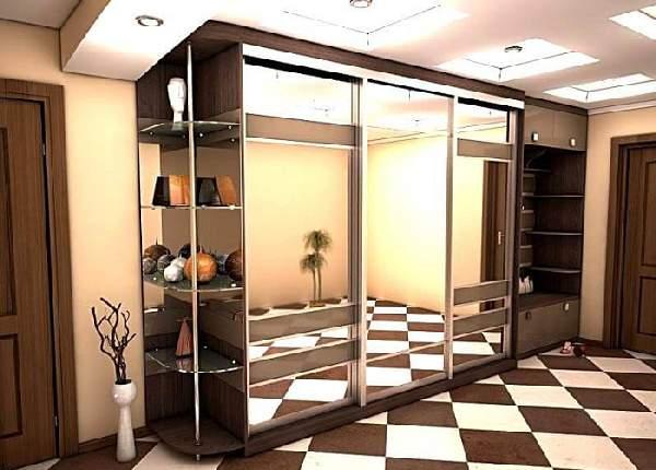 шкаф купе в коридор, фото 1