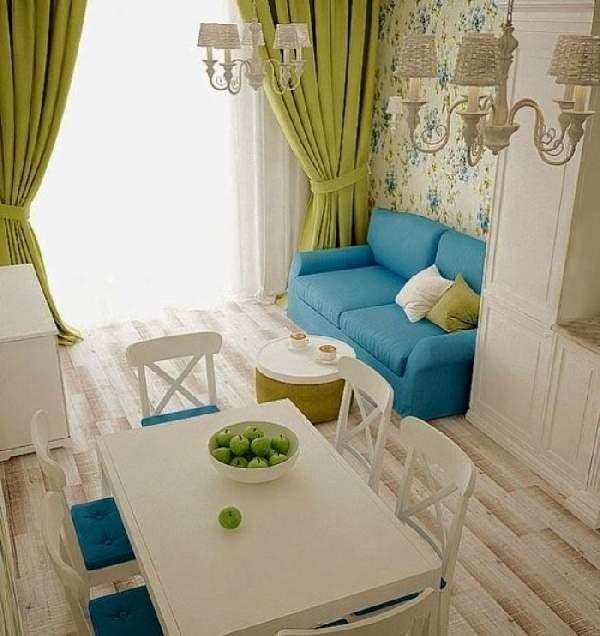дизайн кухни 14 метров с диваном, фото 27