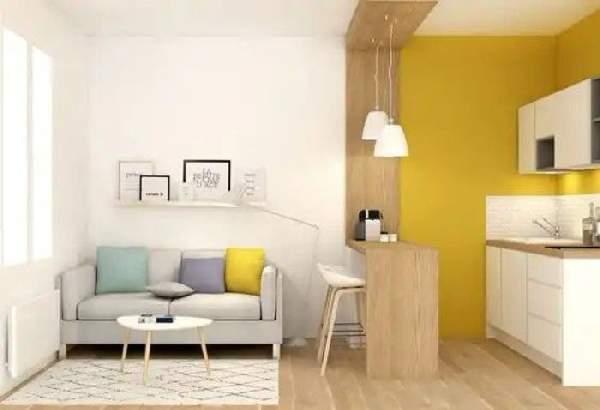 дизайн кухни 9 кв м с диваном, фото 28