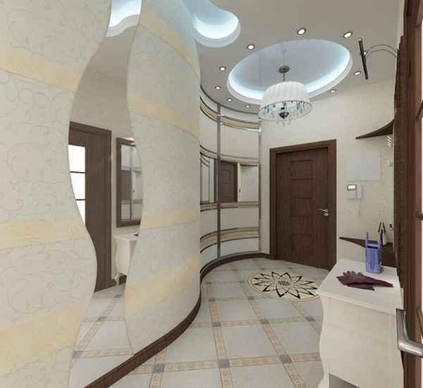 узкая прихожая в частном доме дизайн фото, фото 47
