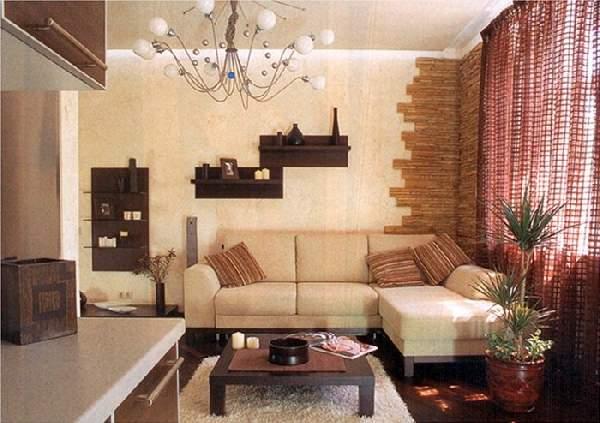 дизайн кухни 14 кв м с диваном, фото 4