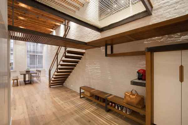 дизайн прихожей гостиной в частном доме фото, фото 29
