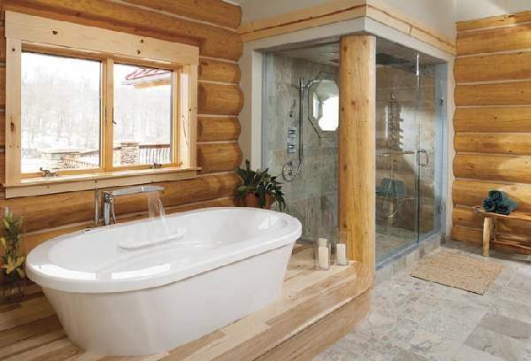 дизайн большой ванной комнаты, фото 31