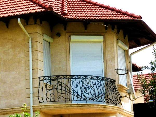 металлические жалюзи на двери внешние, фото 30