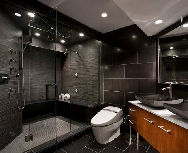 дизайн большой ванной комнаты с душевой, фото 6