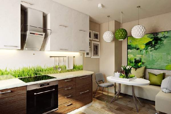 дизайн кухни 8 кв м с диваном, фото 35