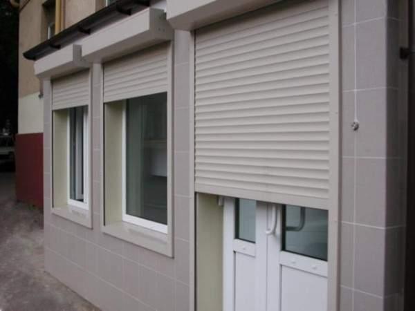 металлические жалюзи на двери внешние, фото 31