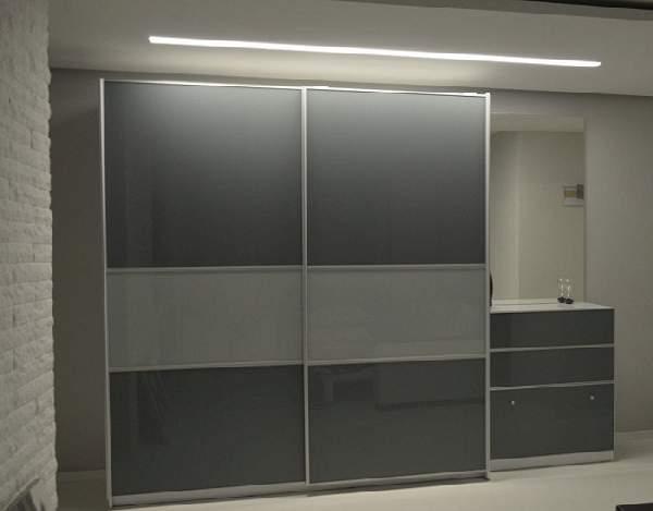 шкаф купе в небольшой коридор, фото 46