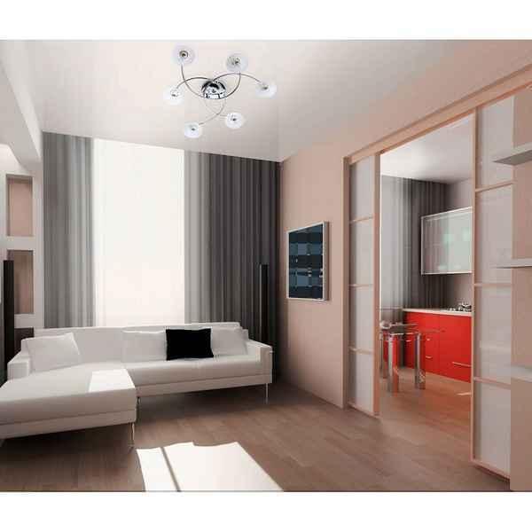 интерьер однокомнатной квартиры, фото 19