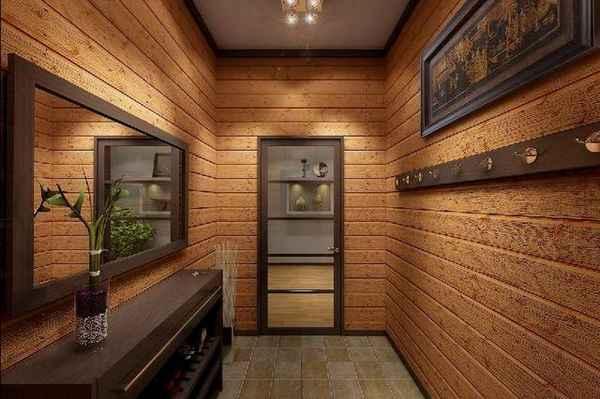 современный дизайн прихожей в доме, фото 52