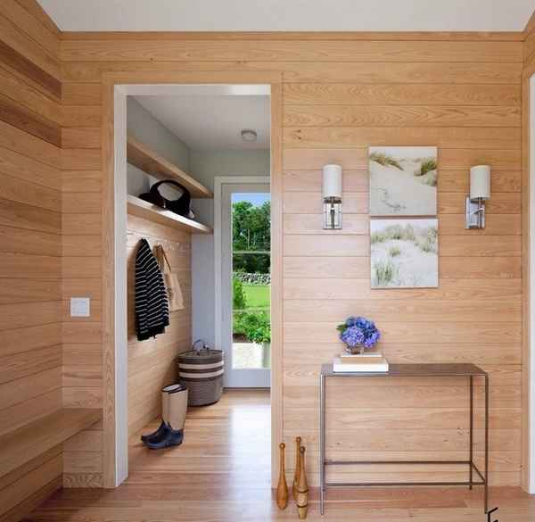 дизайн кухни прихожей в частном доме фото, фото 55