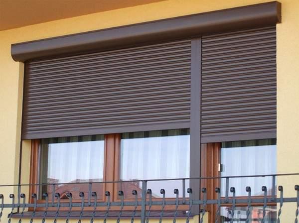 металлические жалюзи на окна, фото 64