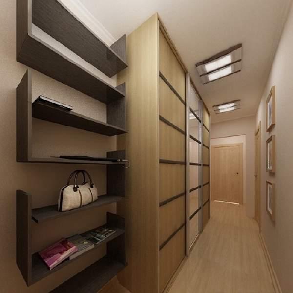 шкаф купе в узком коридоре, фото 8
