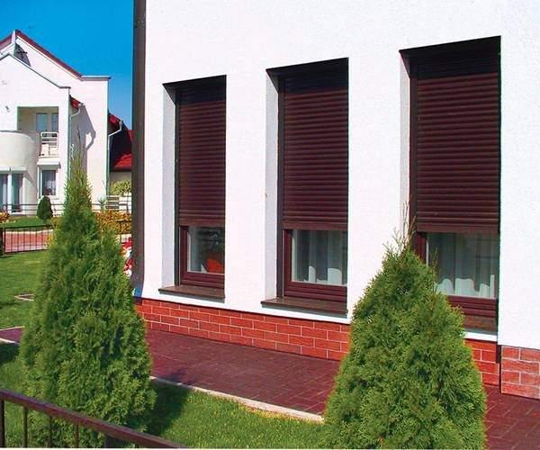 металлические жалюзи на окна внешние, фото 65