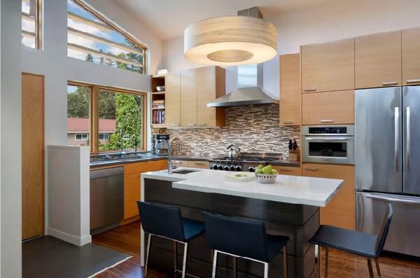 кухни в современном стиле фото, фото 2