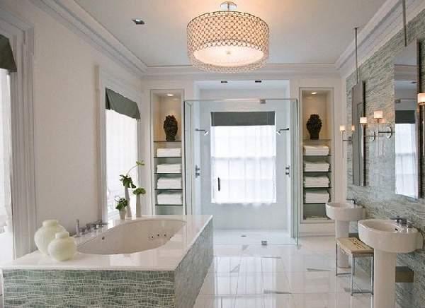 ванные комнаты больших размеров дизайн, фото 43