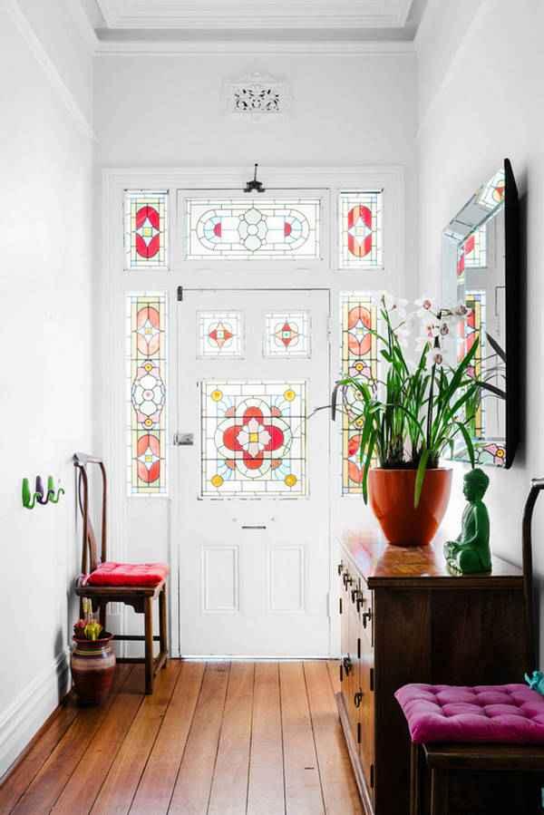 современный дизайн прихожей в доме, фото 5
