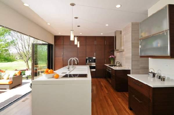 кухни в современном стиле фото в квартире, фото 3