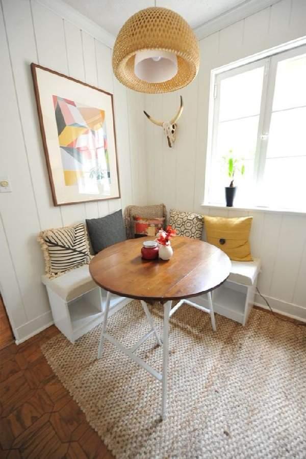 дизайн кухни с угловым диваном, фото 20