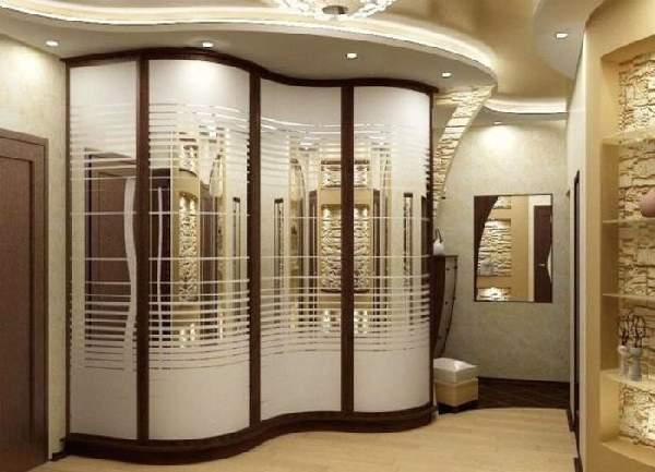 современный шкаф купе в коридоре, фото 31