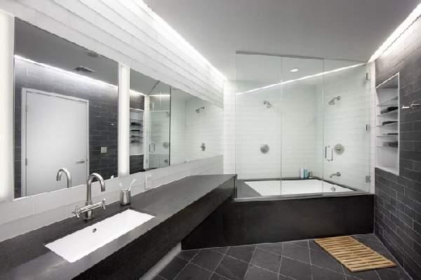 дизайн большой ванной комнаты, фото 45