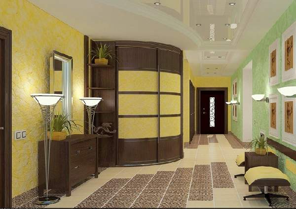 современный шкаф купе в коридоре, фото 32