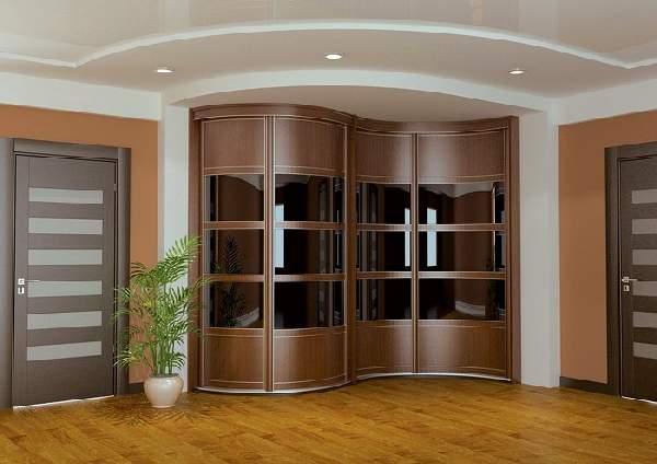 современный шкаф купе в коридоре, фото 33