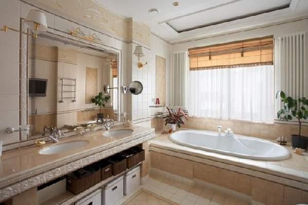 большая ванная комната дизайн фото, фото 34