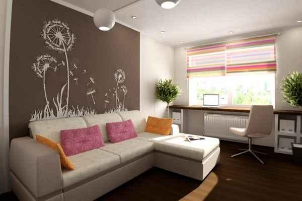 интерьер маленькой однокомнатной квартиры, фото 24