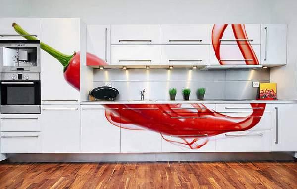современное оформление кухни фото, фото 7