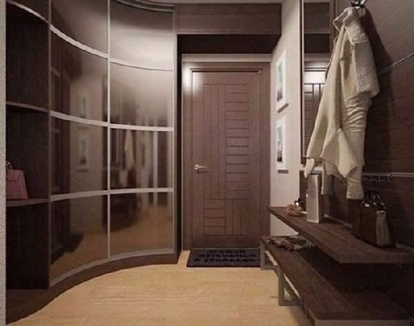 современный шкаф купе в коридоре, фото 35