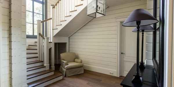 узкая прихожая в частном доме дизайн фото, фото 12