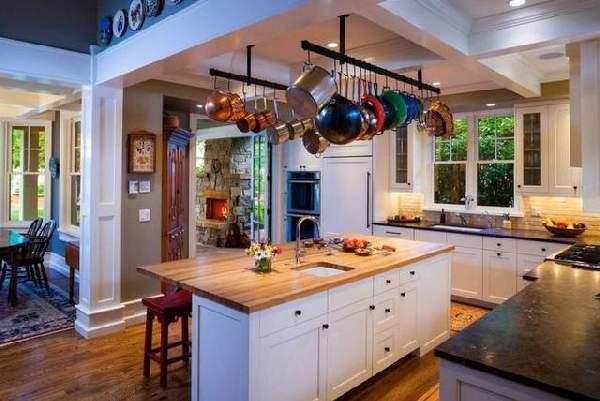 оформление кухни в современном стиле фото, фото 8