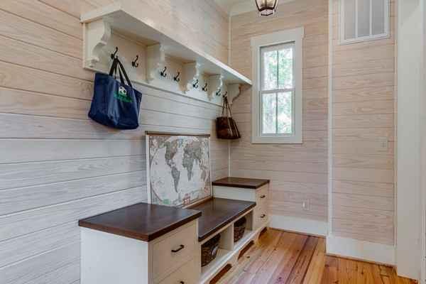 дизайн кухни прихожей в частном доме фото, фото 13