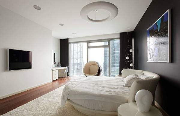белые ковры на пол, фото 30