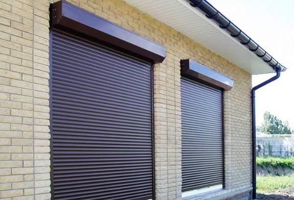 металлические жалюзи на окна внешние, фото 48