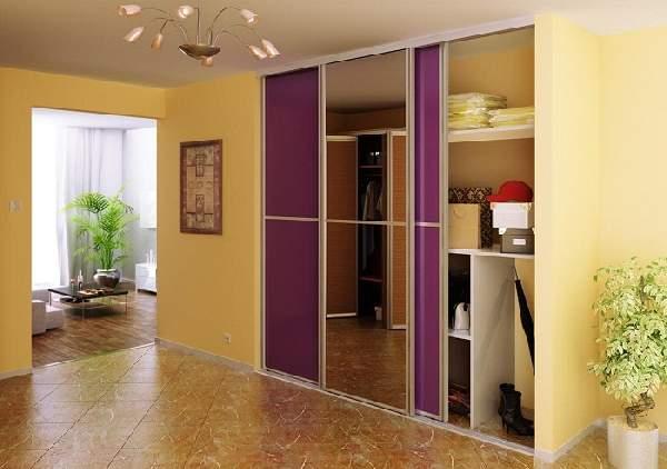 встроенные шкафы купе в коридор фото, фото 21