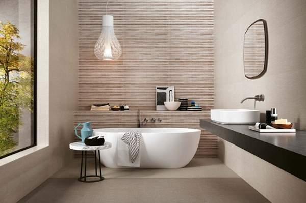 дизайн большой ванной комнаты с окном, фото 49